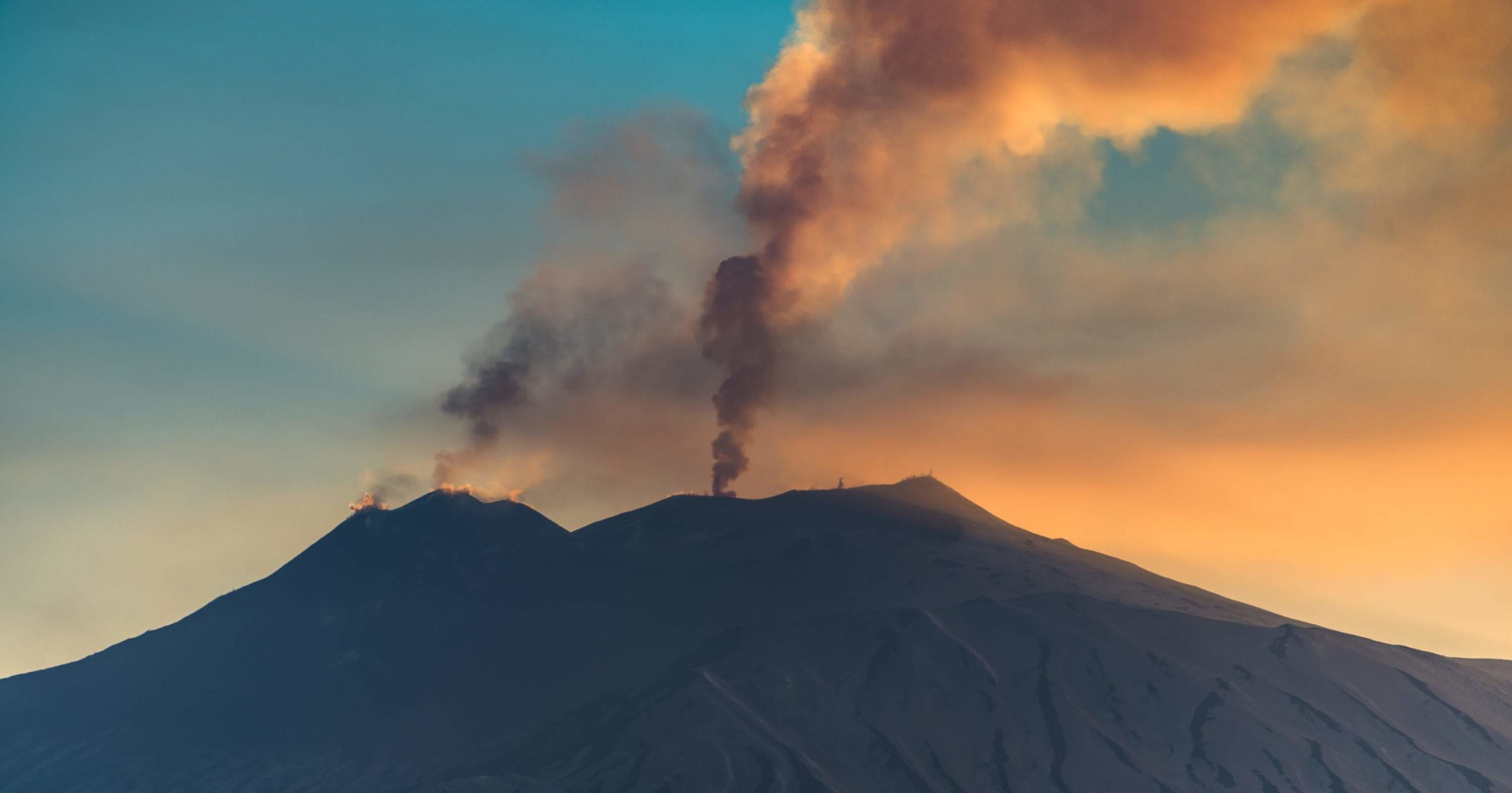 "Mount Etna is fundamental to Sicily's nature and landscape. Leonardo Sciascia called it "" a huge house cat,that purrs and awakens every so often"""